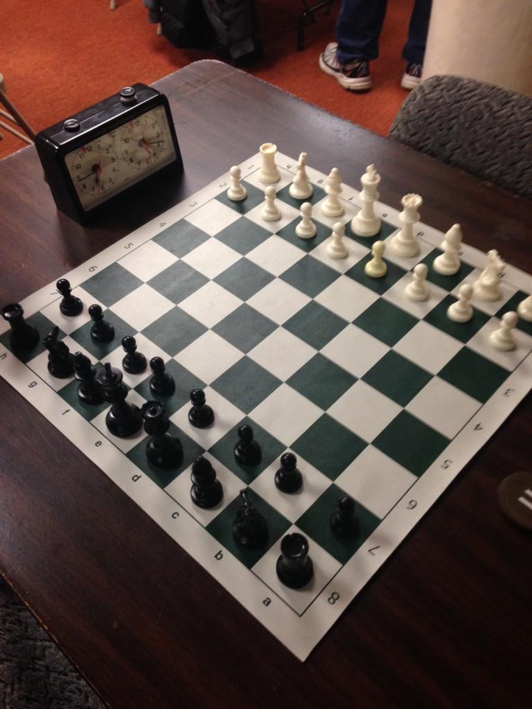 chessboardwithclock